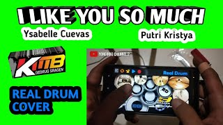 I LIKE YOU SO MUCH - KMB GEDRUK   Real Drum Cover