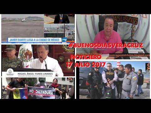 17 julio 2017 #NOTICIERO #BUENOSDIASVERACRUZ #LAGAZETATV #XALAPA #VERACRUZ