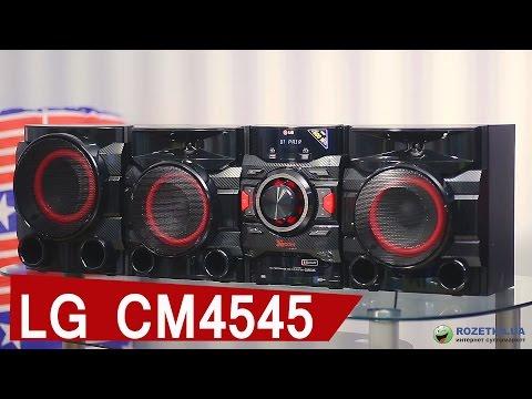 LG CM4545: обзор музыкального центра