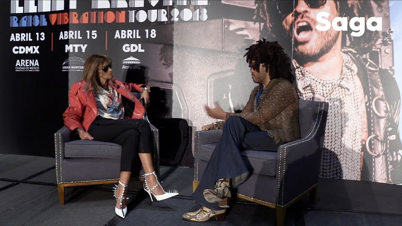 Lenny Kravitz nos platica de su activismo social.