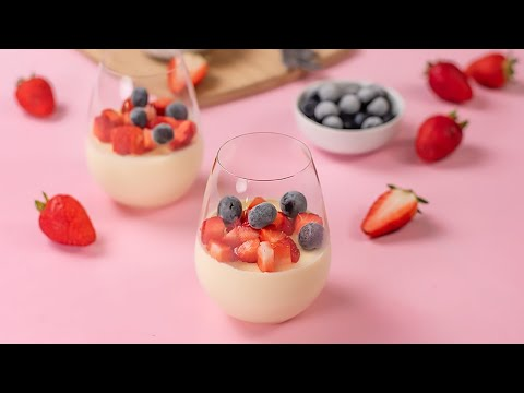 Keto Vanilla Panna Cotta Recipe Tasty Low Carb Dessert with No Sugar Added (2g Net Carbs)