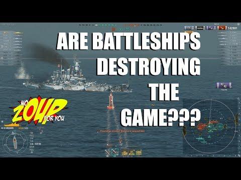 Are Battleships Destroying World of Warships
