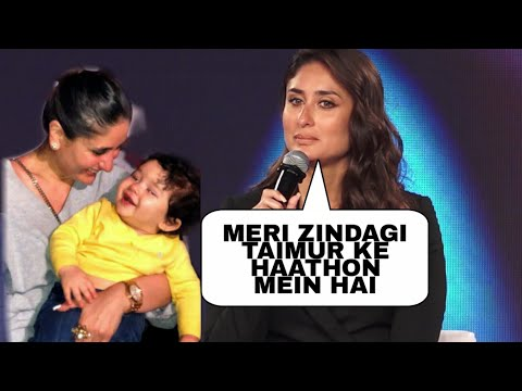 Kareena Kapoor Gets Emotional About Taimur Ali Khan, says 'My Life Is In His Hands'