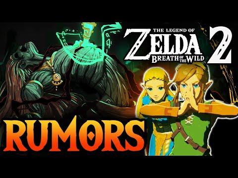 Zelda Breath of the Wild 2 Rumors and Possible Leaks!