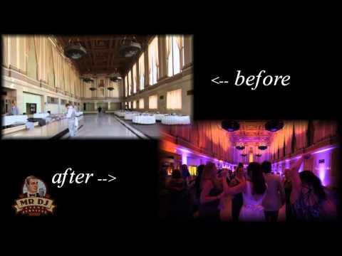 Sacramento Grand Ballroom Wedding, MR. DJ Event Services