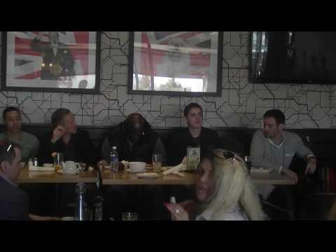 EWS Celebrity Weekend Actors Studio W D Teflon Daniel Goddard Dean Armstrong Mark Taylor
