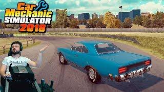 Plymouth Roadrunner против рукожопа Сония и настоящее ралли в Car Mechanic Simulator 2018😂