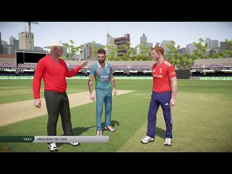 India vs England 2017 | T20 International | Don Bradman Cricket 17 PS4 Pro Gameplay Part 1