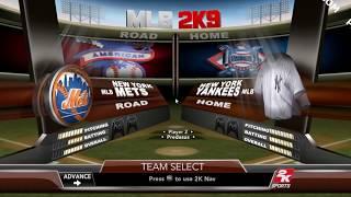 Major League Baseball 2k9 PC Play-View Pt. 1