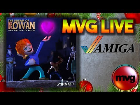 Christmas Eve Stream - New Amiga Game out Today - The Dream