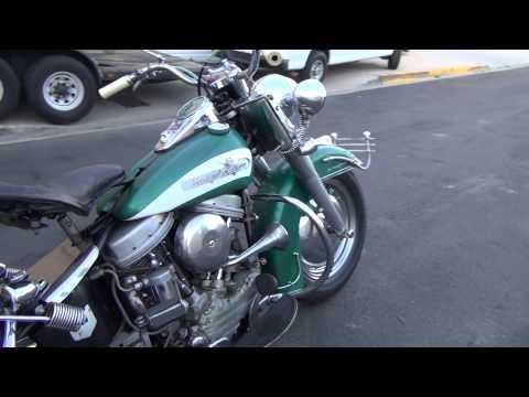"Hunting Harley's, 1956 FLH Hydraglide ""The Green Bug"""