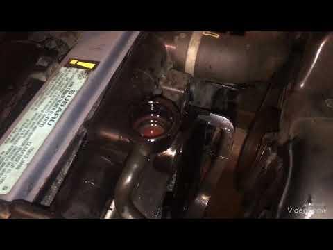 Замена термостата на Subaru Impreza 1,6