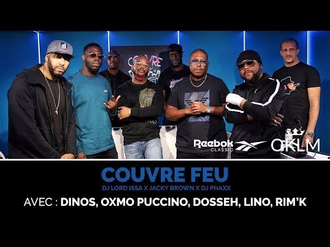 Youtube: Oxmo Puccino, Lino, Rim'k, Dosseh et Dinos – #CouvreFeu – en direct du Reebok Megastore