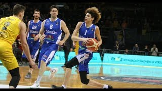 LaMelo and LiAngelo Ball Full Highlights 2018.02.11 vs Siauliai Siauliai