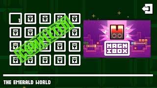 Magnibox THE EMERALD WORLD Level 1-20 Walkthrough