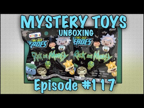 MYSTERY TOYS! Episode #117 - Unboxing Rick And Morty #Funko Pint Size Heroes Toys R US Exclusives