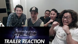 Marvel Studios' Avengers: End Game - Official Trailer REACTION