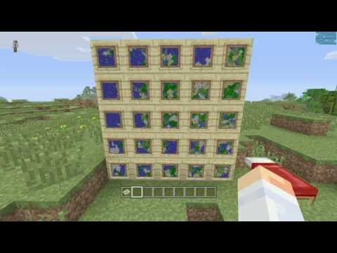 how to make large maps in minecraft