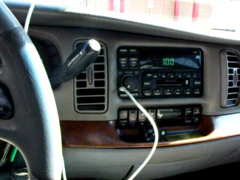 3.5mm input on a stock buick stereo