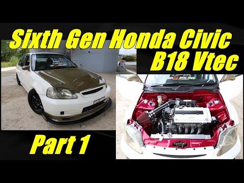 Honda Civic EK Shave & Tuck Engine Bay - Part 1