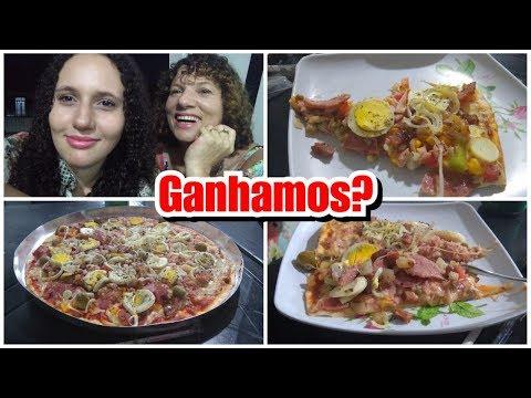 NOITE DA PIZZA   DESAFIAMOS NAARA BEATRIZ