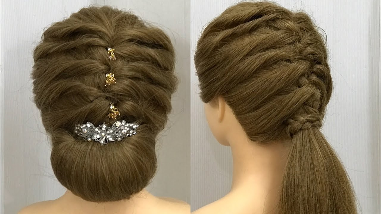 Hairstyles for Medium, Long Hair : Easy Party Hairstyles