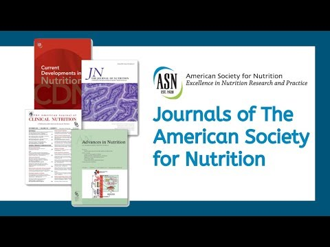 Journals of the American Society for Nutrition