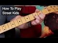 How to Play: 'Street Kids' Elton John Guitar Lesson