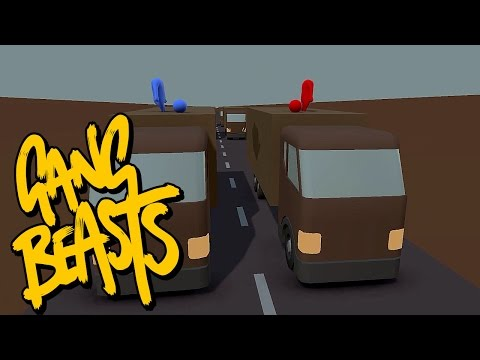 Gang Beasts - Headless Rules [Father Versus Son] - Battle 7