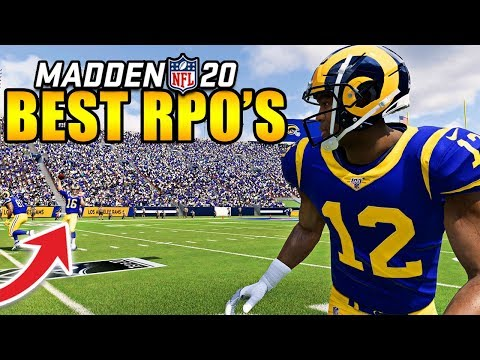 The BEST RPO's in Madden 20 That DOMINATE Any Defense! - YouTube