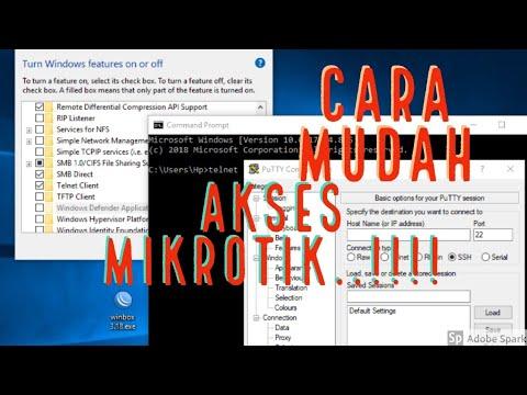 Cara Mudah Remote Akses Router Mikrotik - Wayae Belajar