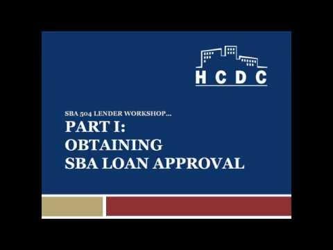 SBA 504 Lending Webinar by Andrew Young