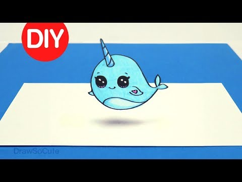 How To DIY 3D Optical Illusion Fun | Narwhal