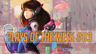 LOOK AT THAT MECHA'S ASS! - Overwatch Brasil - Plays Of The Week #3