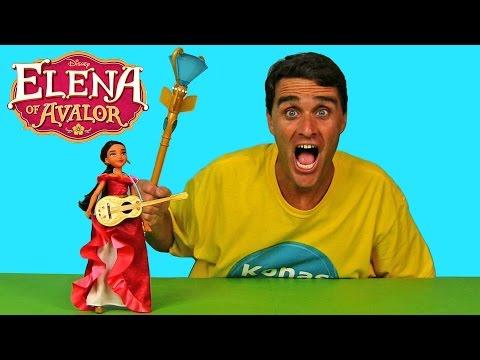 Elena of Avalor Scepter and Elena My Time Singing Doll !    Disney Toy Reviews    Konas2002