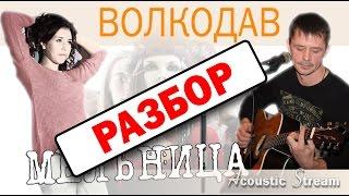 Мельница - Волкодав / Разбор на гитаре / Видеоурок / Аккорды и бой / Acoustic Stream
