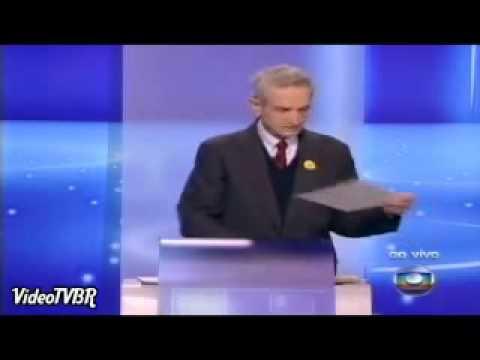 Plinio de Arruda Sampaio STAND-UP - Debate rede Globo 30.09