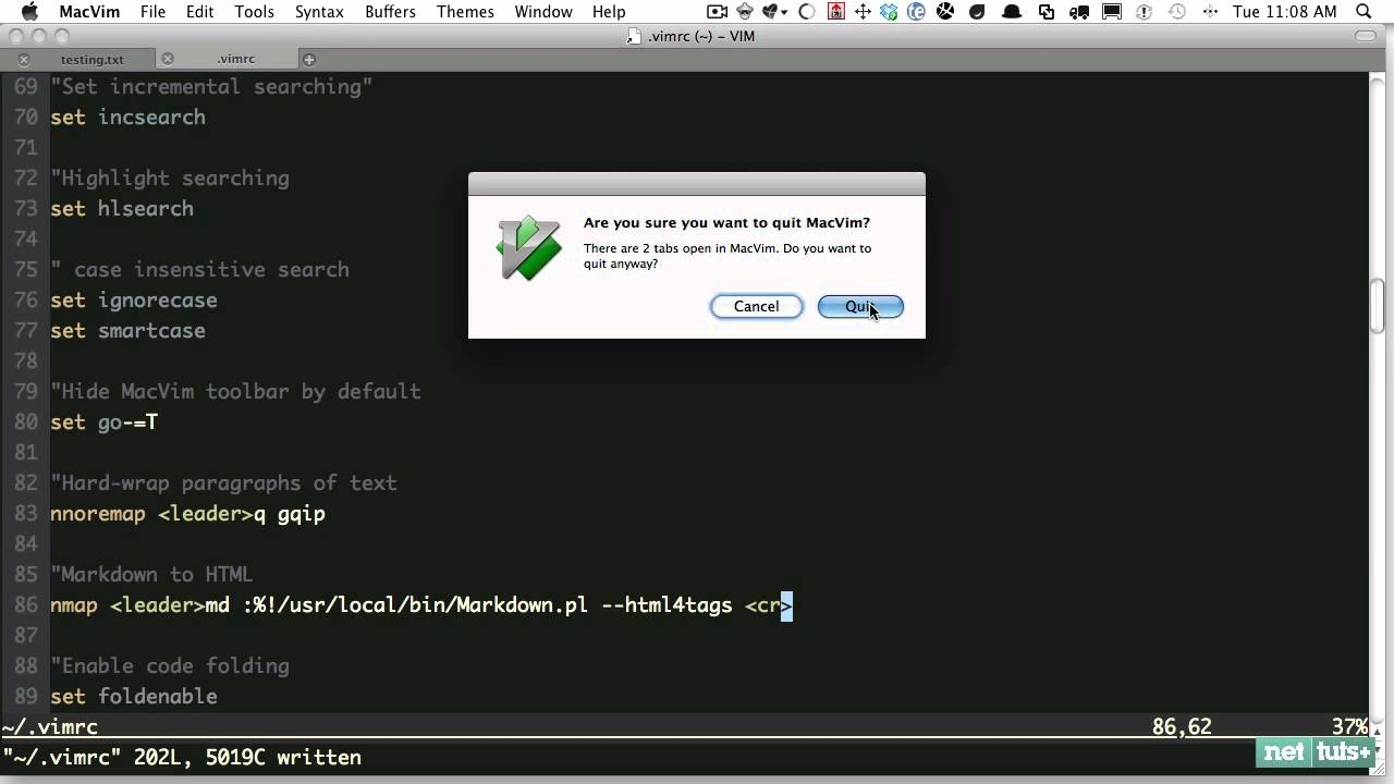 Vim Essential Plugin: Markdown to HTML