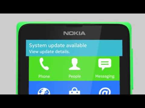 Nokia X and XL Update phone software