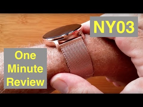 rundoing-ny03-ip68-waterproof-multi-sport-blood-pressure-dress-smartwatch:-one-minute-overview