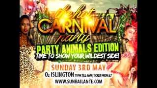 Sun Bailante - Pre Notting Hill Carnival Soca mix 2015 - Trinidad & Tobago