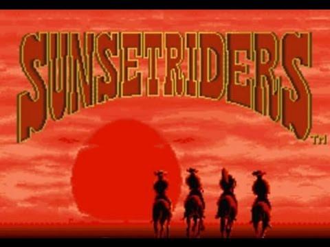 Sunset Riders (Sega Genesis) Прохождение-обзор