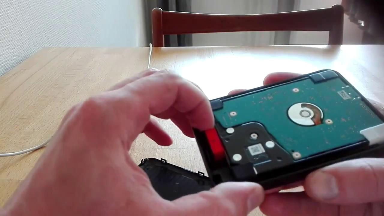 Toshiba Canvio Basic 1 TB Hard Drive Unboxing - YouTube