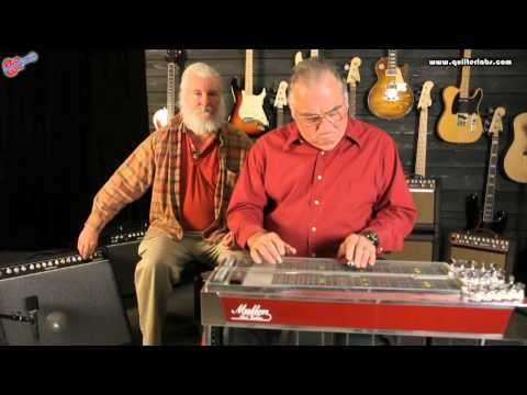 Quilter Labs Steelaire Demo on Mullen Pre-Royal Precision Pedal Steel with Pat Quilter