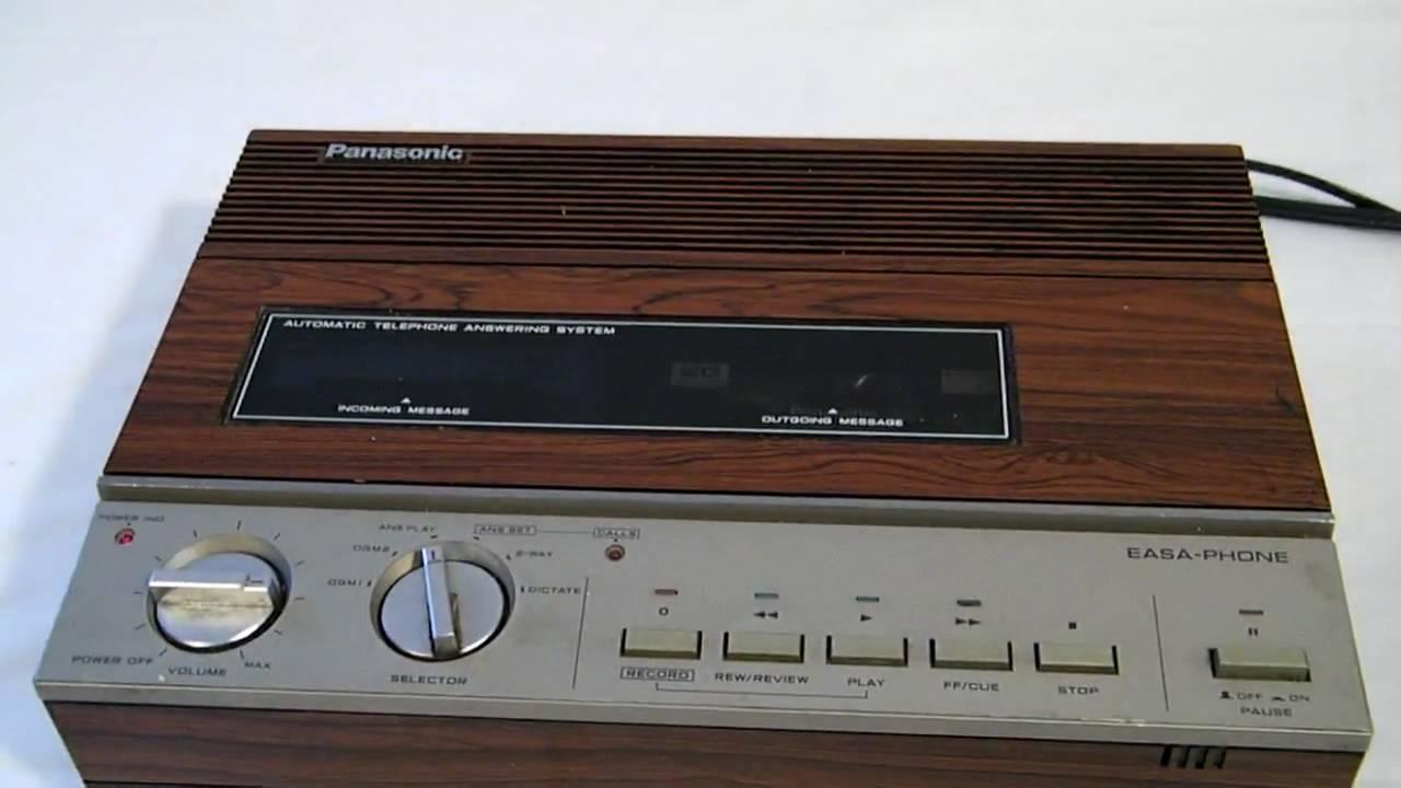 panasonic answering machine not working