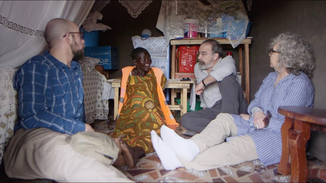 mandy patinkin and family visit uganda to meet south