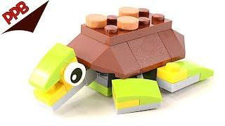 Lego Creator: Happy Turtle Polybag 30476 Plus An Alternate Build
