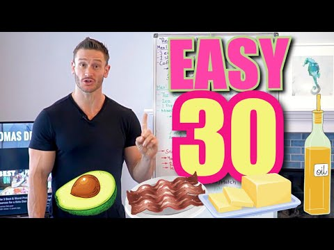 30-Day EASY Keto Challenge (Full Meal Plan to Follow)