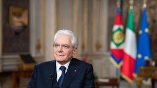 Messaggio di fine anno del Presidente Mattarella - versione con sottotitoli