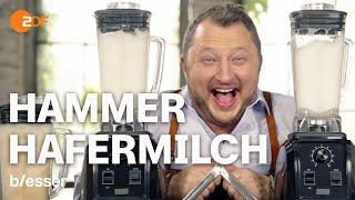 Hafermilch: Selber machen spart Geld   Tricks der Lebensmittelindustrie